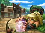 Elven Archer vs Thieving Pixie