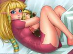 Plushy snuggle - Zelda