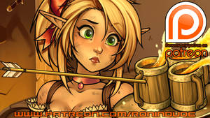 Patreon Teaser! 9-25-2015 by RoninDude