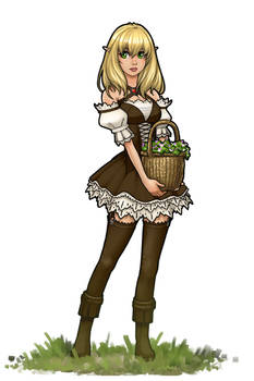 Flower Basket Elf