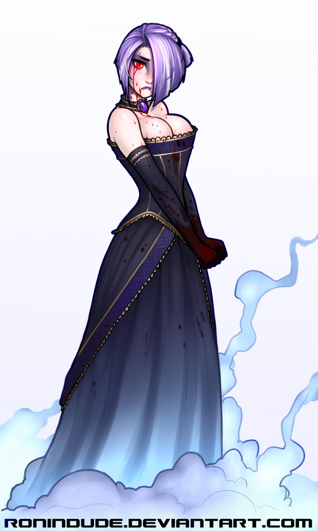 vampire girl by ronindude on deviantart