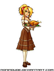 Lin - Turkey Platter by RoninDude