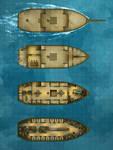 Battlemap - The Merryweather Merchant Sailing Ship