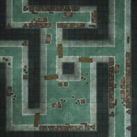 Battlemap - Sewers - Random encounter maps by RoninDude
