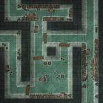 Battlemap - Sewers - Random encounter maps