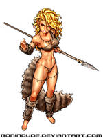 Cave Elf with Spear