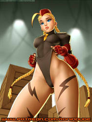 March 2019 Patreon - Cammy by RoninDude