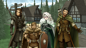 Heroes of Arnoth - The whole crew