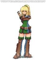 Ellie the elven archer