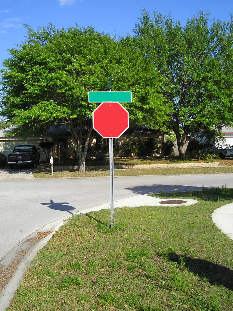 Blank Stop Sign by Fizzy007 on DeviantArt