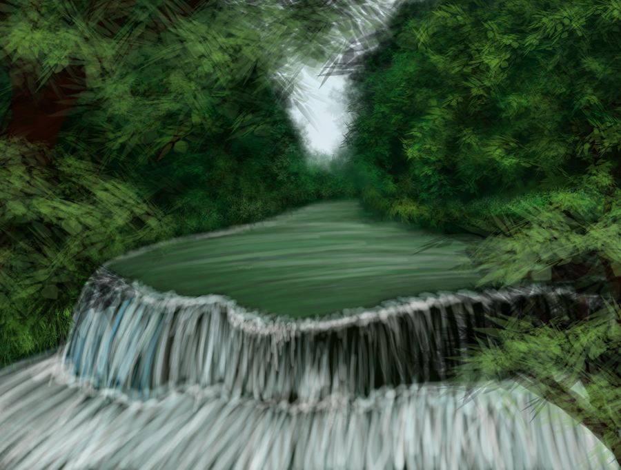 Hidden River by Roxis805