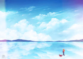 Journey: Great Salt Lake by electrifried