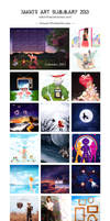 2013 Art Summary by electrifried