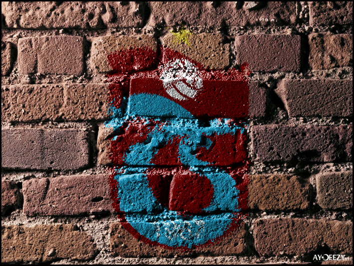 Trabzonspor on the wall by AYDeezy