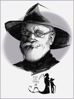 sir Terry Pratchett by Creature13