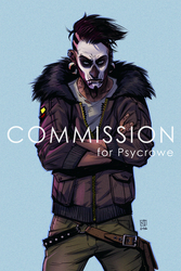 commission: Paleface by Creature13