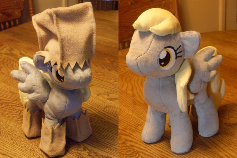 Derpy Hooves Halloween Plush by JyamiTeK