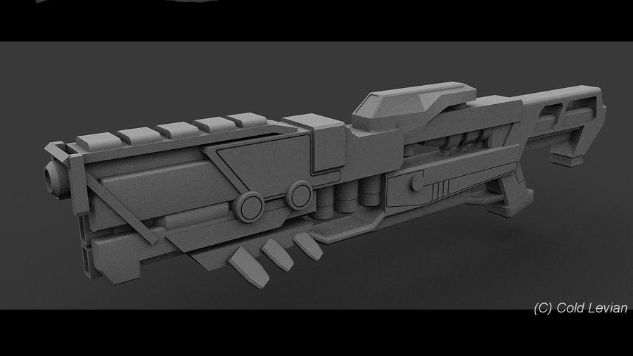 Assault Rifle Extended V. by Cold-Levian
