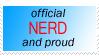 Nerd Stamp by eruthiel