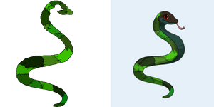 Ovipets Snake tattoo *Free Female*