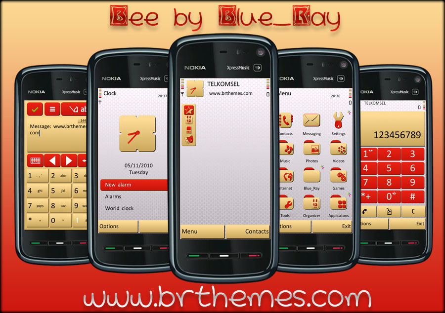 Bee White Edition by BlueRay by Brthemes