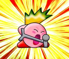 Kirby Rocker by Phoenix-Fighter