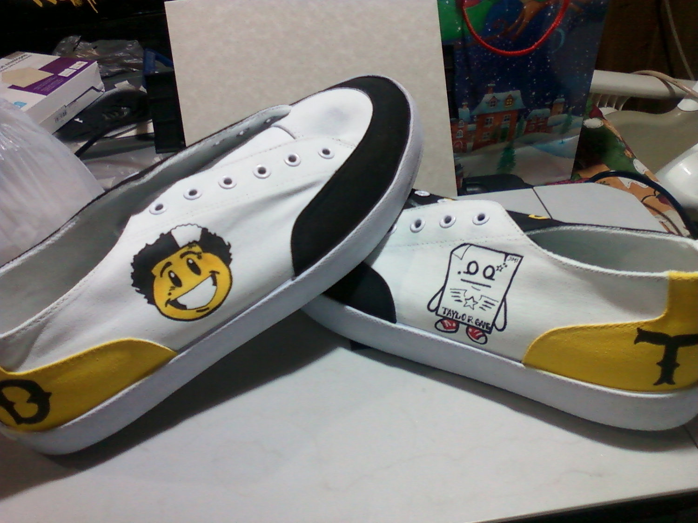 Custom Painted Ballarina Shoes