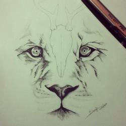 The Tiger by Gabrielborghi