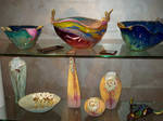 blown glass collection, faves