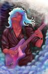 Guitarist by AndreVarlet-Green