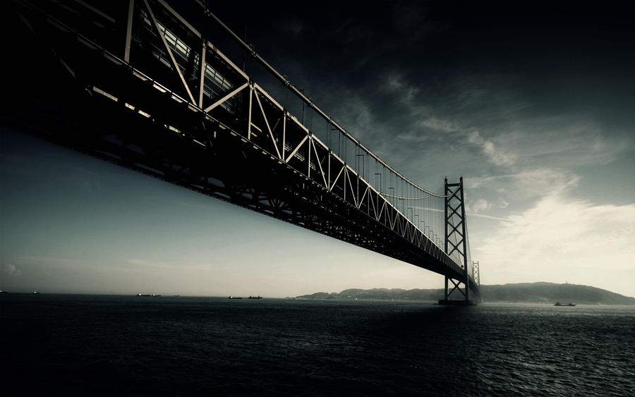 Dark Bridge Wallpaper by KevDog32