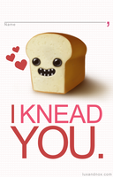 Valentine for Bread Lovers II by luxandnox