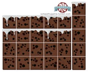 Fruitcake Platform Tileset by luxandnox