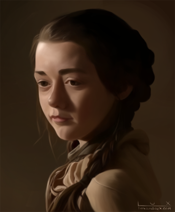 Arya Stark by luxandnox