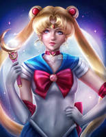 Sailor Moon by Nindei