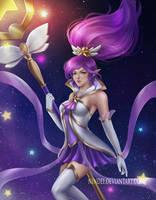 Star Guardian Janna by Nindei