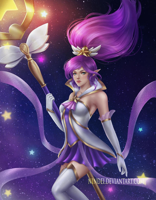 Star Guardian Princess Sona [Sakimichan] : Rule34LoL