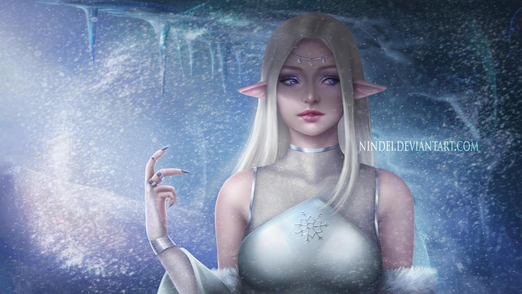 Snowflake by Nindei