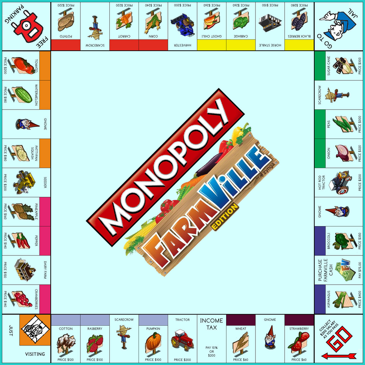 Monopoly: FarmVille Edition by Jest84