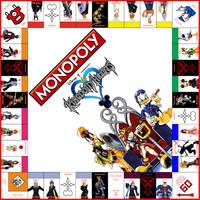 Monopoly: Kingdom Hearts by Jest84