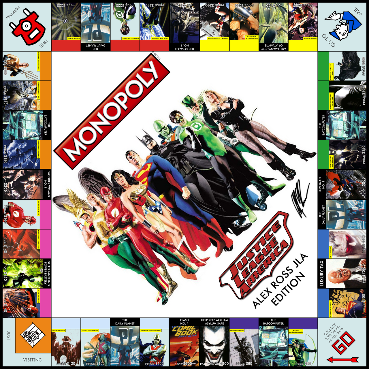 Monopoly Alex Ross Edition By Jest84 On Deviantart