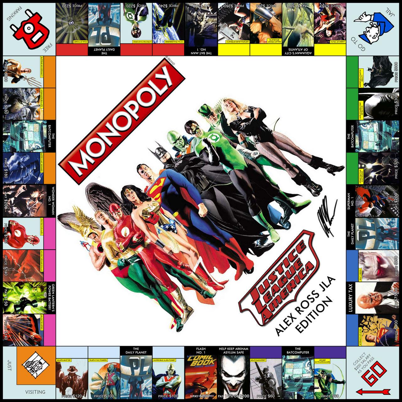 Monopoly: Alex Ross Edition