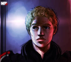 Shepard portrait by Jinzali