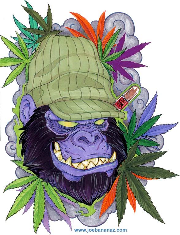 Apes-420 by joebananaz