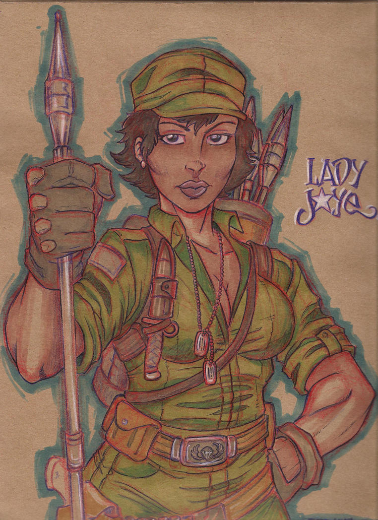 Lady jaye by joebananaz