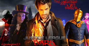 MY JUSTICE LEAGUE DARK POSTER by Redhood2343