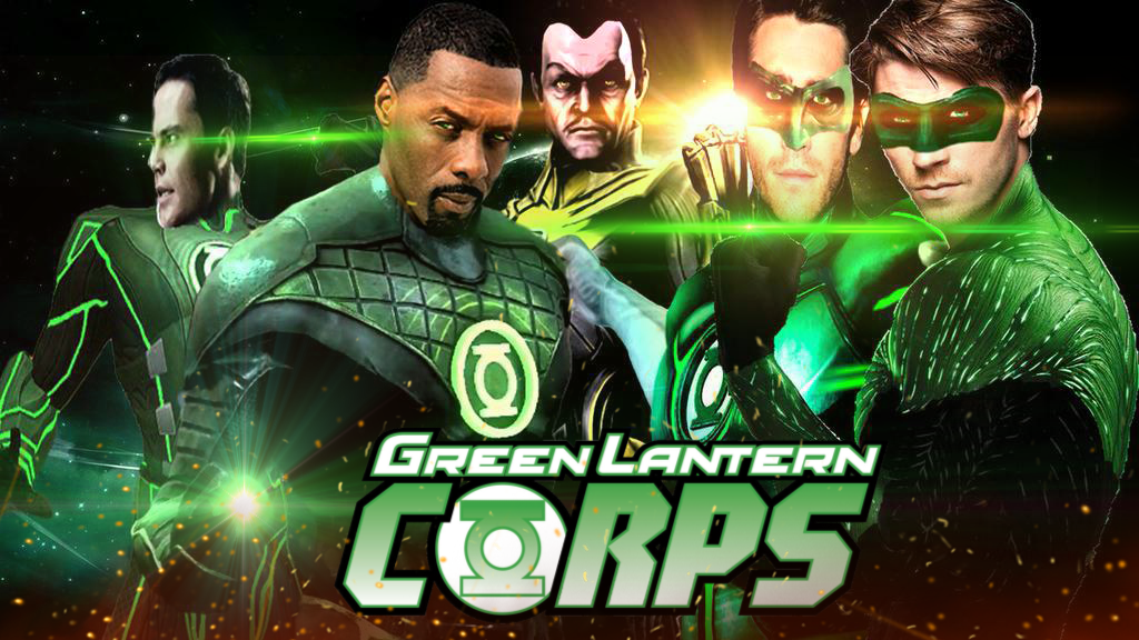 GREEN LANTERN CORPS SECOND COLLABORATION By Redhood2343