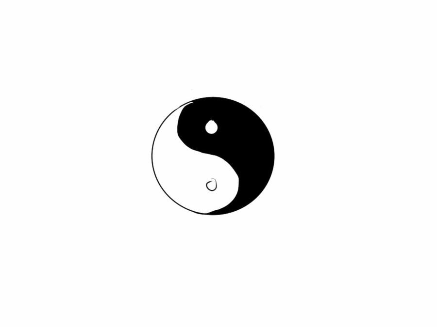 Yin yang revised tattoo design start by davwin on deviantart for Architecture yin yang