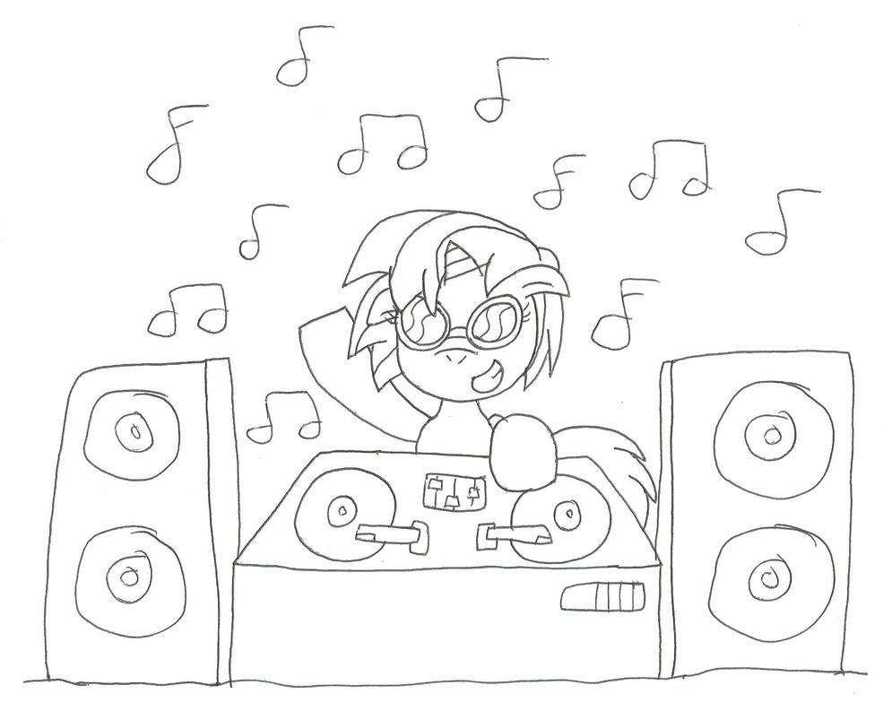 DJ P0N-3 by SomePkmn-lovingdude