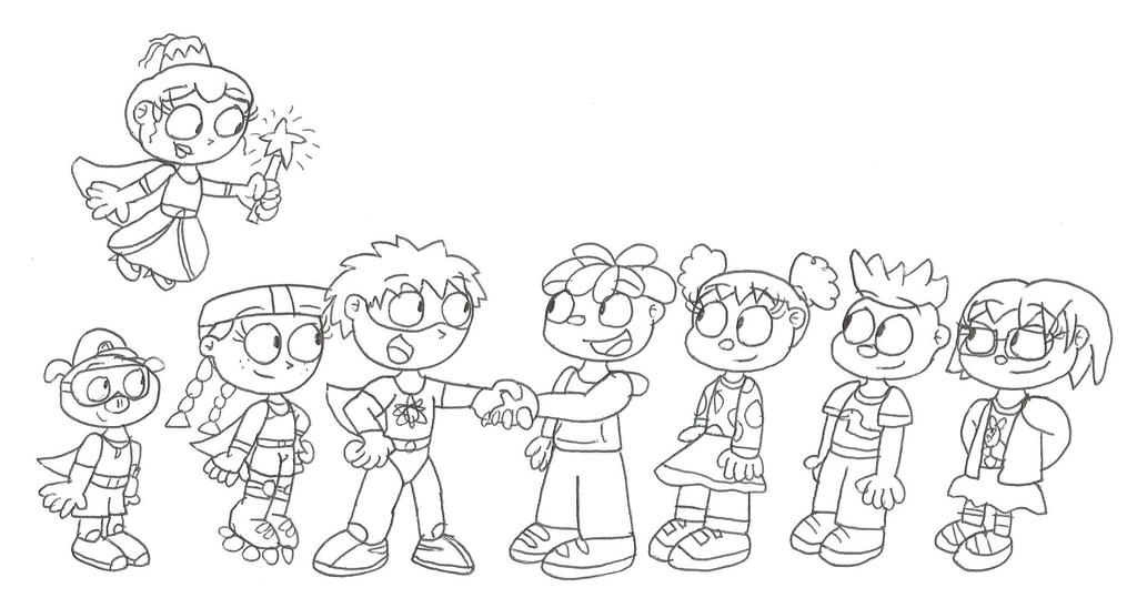 woofster coloring pages - super why coloring pages printable sketch coloring page